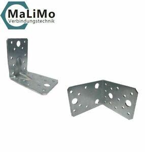 Schwerlast Winkelverbinder Bauwinkel Holzverbinder mit / ohne Sicke verzinkt CE