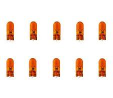 10x WY5W T10 12V 5W W2,1x9,5d BLINKER ORANGE AMBER LAMPEN FALTSCHACHTEL 10 STÜCK