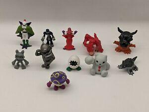 1990's 2000's Digimon Digital Monsters Assorted Mini Figure Lot of 11