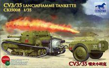 Bronco 1/35 35008 Italian CV3/35 Lanciafiamme Tankette