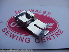 SEWING MACHINE CLIP ON STRAIGHT SEWING FOOT BROTHER SINGER TOYOTA JANOME