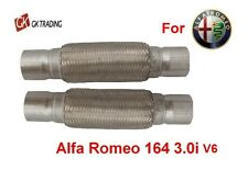 ALFA ROMEO 164 3.0 V6 24V Flexible flexi pipe connector joint + free extensions!
