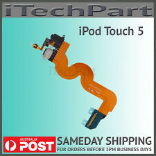 Black Charging Port Audio Jack Home Button Replacement For iPod Touch 5