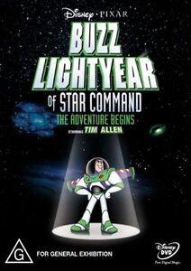 Buzz Lightyear Of Star Command (DVD, 2000) FREE POST