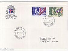 Island Nr.   578-79  FDC  Europa