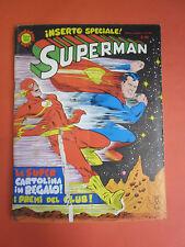 SUPERMAN ALBI DEL FALCO NEMBO KID  N° 592 cartolina inserto integra MONDADORI-