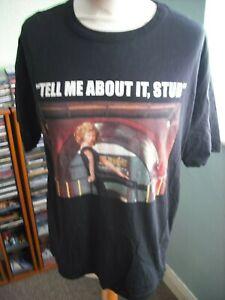 Zara Trafaluc Oversized Grease Tell Me About It Stud T-Shirt M.