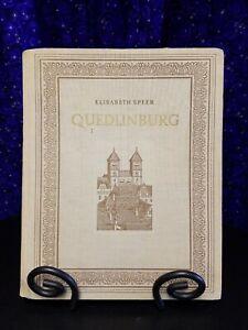 Quedlinburg von Elisabeth Speer, 1954 Illustrated Hardcover