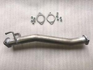 "Tata Xenon 2.2L Turbo Diesel (2013-2018) 2 1/4"" Muffler Delete Pipe"