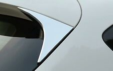 Rear Window Triangle Cover Trim 2pcs For Mazda 3 AXELA M3 Hatchback 2014- 2017