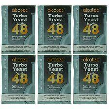 Alcotec 48 Hour Turbo Distillers Yeast (Pack of 6) - Lowest Cost per Pkg on Ebay