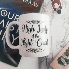 Haut lady night court épines et Roses Mug Sarah J Maas Inspiré Livre rhysand