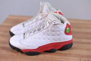 Nike Air Jordan 13 Retro OG 'Chicago' White Team Red 414571-122 Men's 8.5