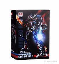 "Black Mamba Transformers LS-03 LS03 Optimus Prime Oversized MPM-04 Figure 12"""