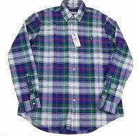Polo Ralph Lauren XL Mens Shirt Classic Fit Long Sleeve Button Down Cotton NWT