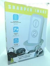 Sharper Image Portable Electronic Key Finder Great Christmas Gift  NEW  Version
