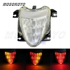 Clear LED Tail Light Brake Turn Signals Lamp For Suzuki Boulevard M109R 2006-09