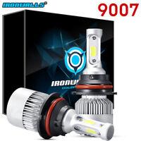 HB5 9007 Dual LED 1080W 162000LM Headlight Conversion Bulbs White 6000K HI/LO