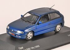 1992 OPEL ASTRA GSi in Blue 1/43 scale model by Whitebox