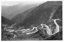 4320) TENDA (CUNEO) ALTA VALLE ROIA (ROIA), I TORNANTI DEL COLLE. VIAGGIATA.