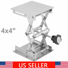 Laboratory Adjustable Lifting Stand Platform Scissor Jack Bench Lifter 4x4
