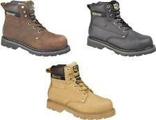 Grafters GLADIATOR Mens Steel Toe Oil Heat Resist Comfortable Safety Work Boots