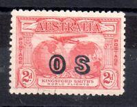 Australia 1931 Kingsford 2d OS overprint With Gum Vfu SG0123 WS9263