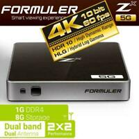 FORMULER ZX 5G DUAL BAND Built In Wifi ANDROID 7 4K SMART PLAYER IPTV Bluetooth
