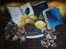 arte quadri dipinto info offerta dipinto a mano su tela 80X60 alliev R. GUTTUSO