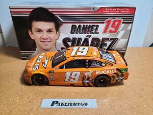 2018 Daniel Suarez #19 ARRIS / Ruckus Joe Gibbs Racing 1:24 NASCAR Action MIB