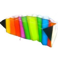 Anaterra Lenkdrachen Lenkmatte Drachen 120 X 50 Cm In Regenbogenfarben