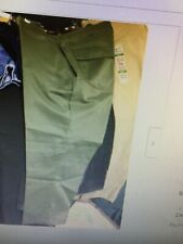 Vintage 80s ARMY OG-507 OD Green Utility Trousers Pants USA Mens cotton/poly