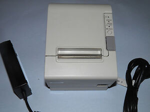 Micros Epson TM-T88IV M129H Thermal POS Receipt Printer  Micros Ethernet & Power