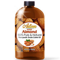 Sweet Almond Oil (100% PURE & NATURAL) Cold Pressed Carrier & Massage Oil