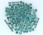 Real 100% Natural Loose 100 Round Diamonds Clarity-I13 Blue Color N536