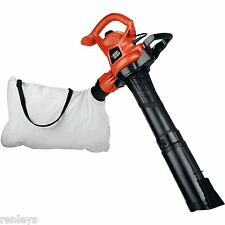 Black and Decker 3-in-1 BV3600 12 Amp Vac Outdoor 230 mph Leaf Blower Vacuum NEW