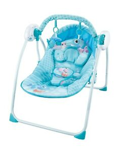 Electric Baby Swing Bassinet Rocker Cradle Toys Sound Melodies with Remote