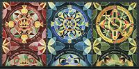 Israel Festivals Stamps 2020 MNH Modern Jewish Art Mandalas Cultures 3v Set