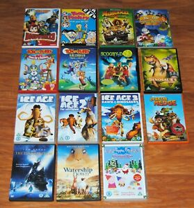 Cartoon DVD Bundle 15 Titles Animated Includes Tom and Jerry FREE UK Postage