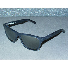 New Oakley Frogskins LX Dark Grey Tortoise/Black Iridium Acetate Sport Retro