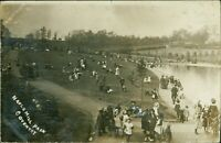 COVENTRY Naul's Mill Park 1910 Crowd Children    D2.4175