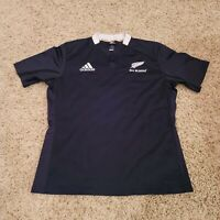 Adidas New Zealand All Blacks Rugby Men Jersey Shirt Size XL EUC