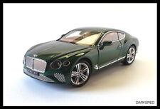 Bentley Continental GT. 1/18. Norev 182782. 2019 Verde metalizado. New OVP