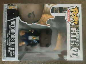 Funko Pop! Rocks The Notorious B.I.G 77 Notorious B.I.G with crown