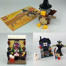 LEGO Halloween Thanksgiving Valentine Complete 40122 40091 40120