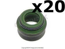 VOLKSWAGEN AUDI (1987-2008) Valve Stem Seal (7 mm) Set of 20 CORTECO-CFW OEM