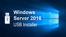 Windows Server 2016 Standard Datacenter 64bit UEFI Bootable Install USB Drive