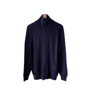 NEW! 100% Alpaca Mens Full-Zipped Cardigan
