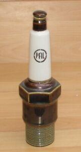 vintage PAL Werbe - Keramik Zündkerze - Schnapsflasche - um 1970 -  Top Zustand