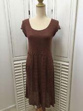 Knee-Length 100% Silk Tunic Dresses for Women